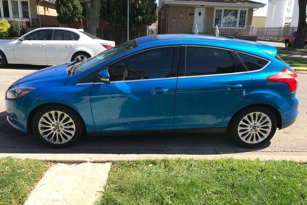 2012 Ford Focus Titanium Hatchback 4d For Sale 76 115 Miles Swap Motors